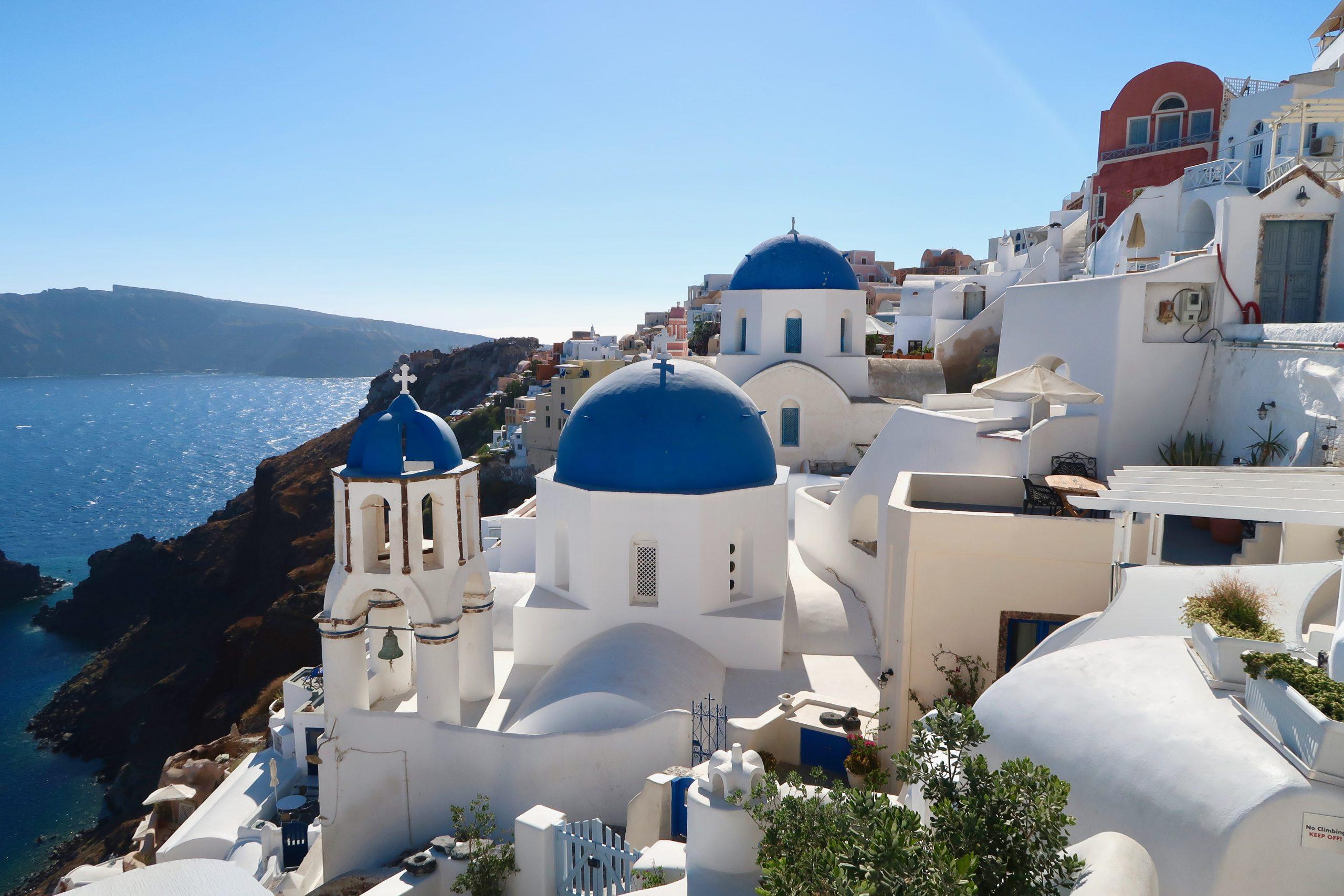 EXPLORING SANTORINI GREECE