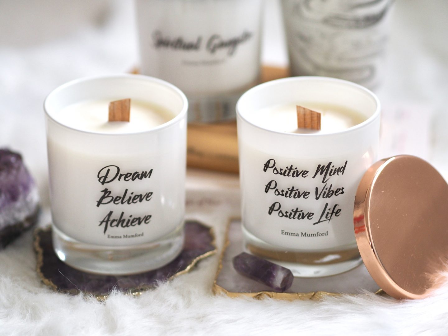 I'VE ADDED TWO NEW DESIGNS TO MY CANDLE RANGE!