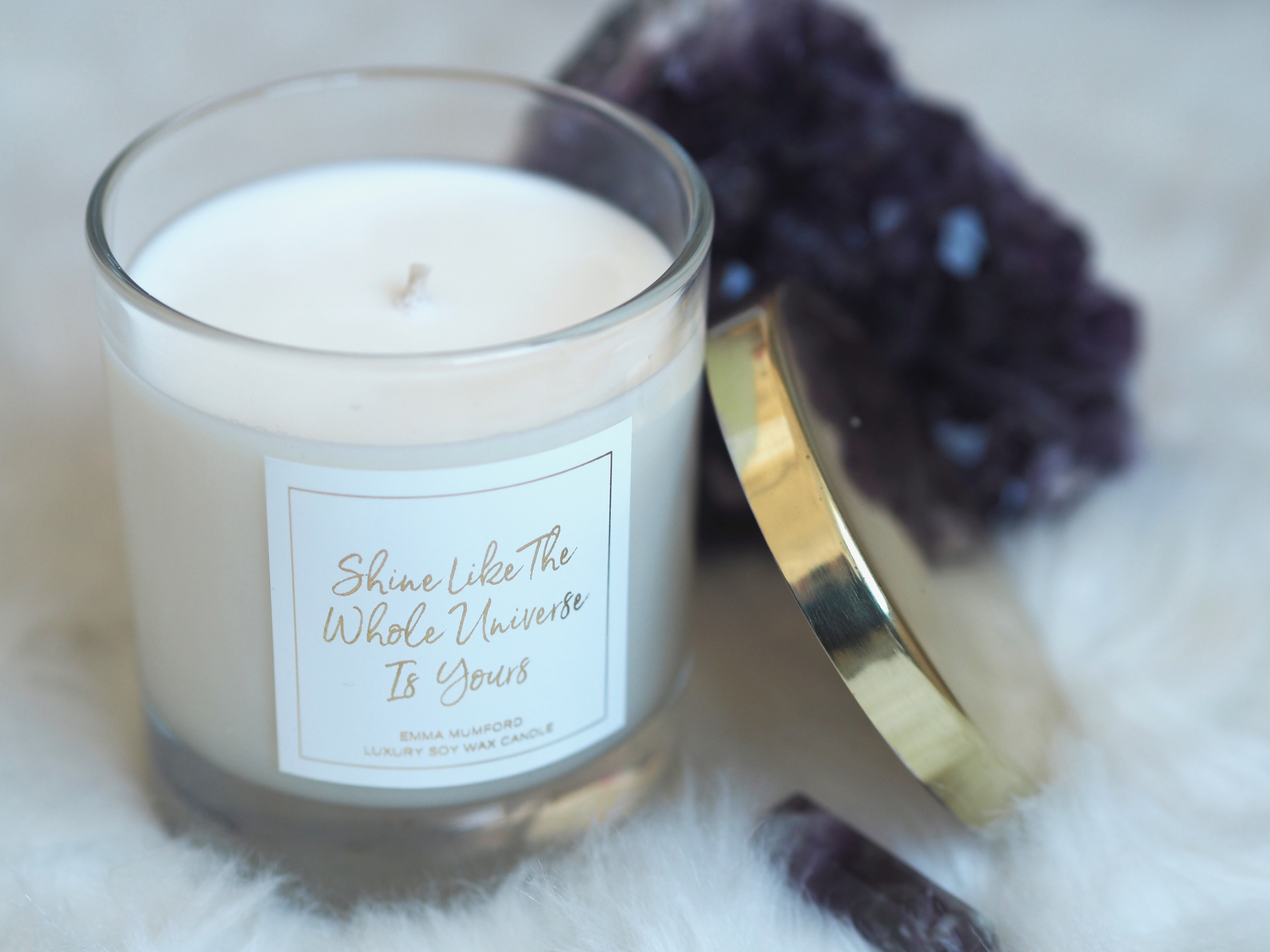 MY LAW OF ATTRACTION CANDLE RANGE - EMMA MUMFORD