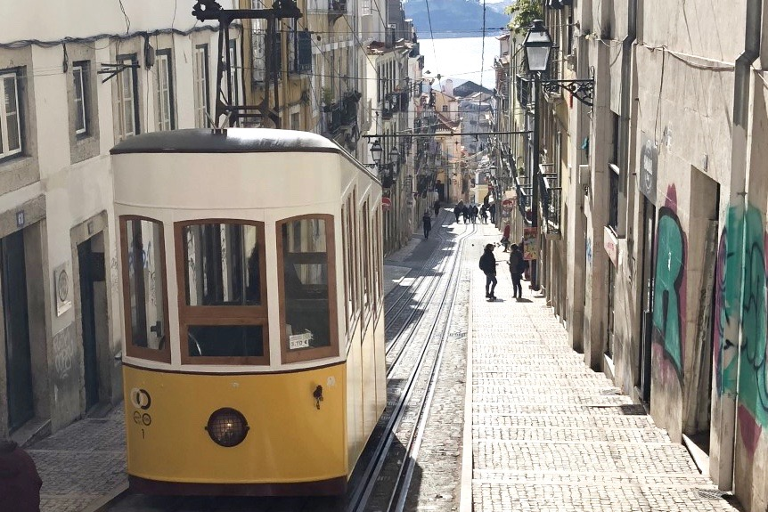 EXPLORING LISBON PORTUGAL - EMMA MUMFORD