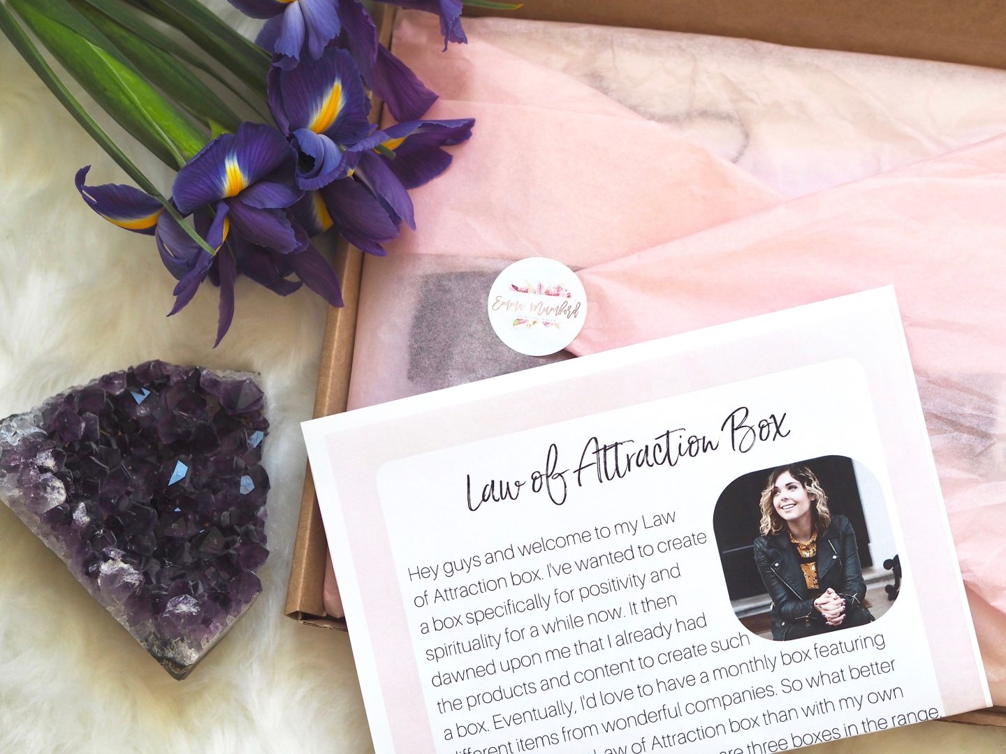 LAUNCHING MY OWN LAW OF ATTRACTION BOXES