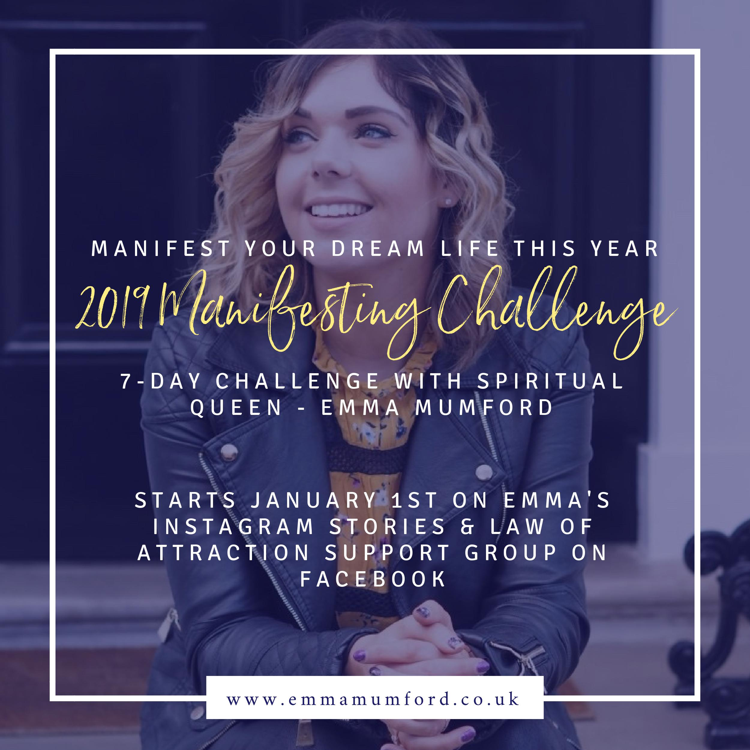 HOW TO MANIFEST THE S*** OUT OF 2019 - Emma Mumford