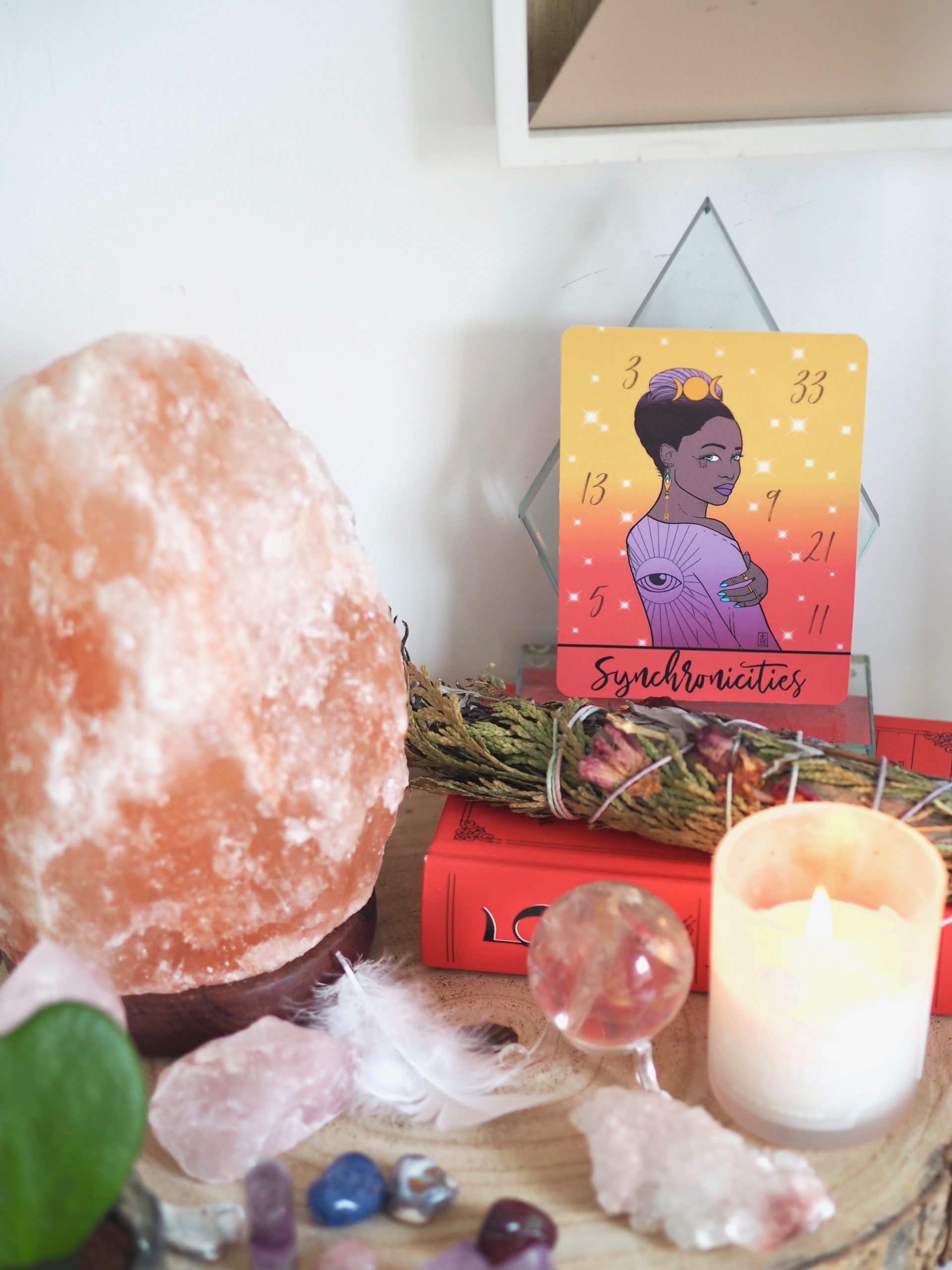 HOW I CREATED MY SPIRITUAL QUEEN ORACLE CARDS - Emma Mumford