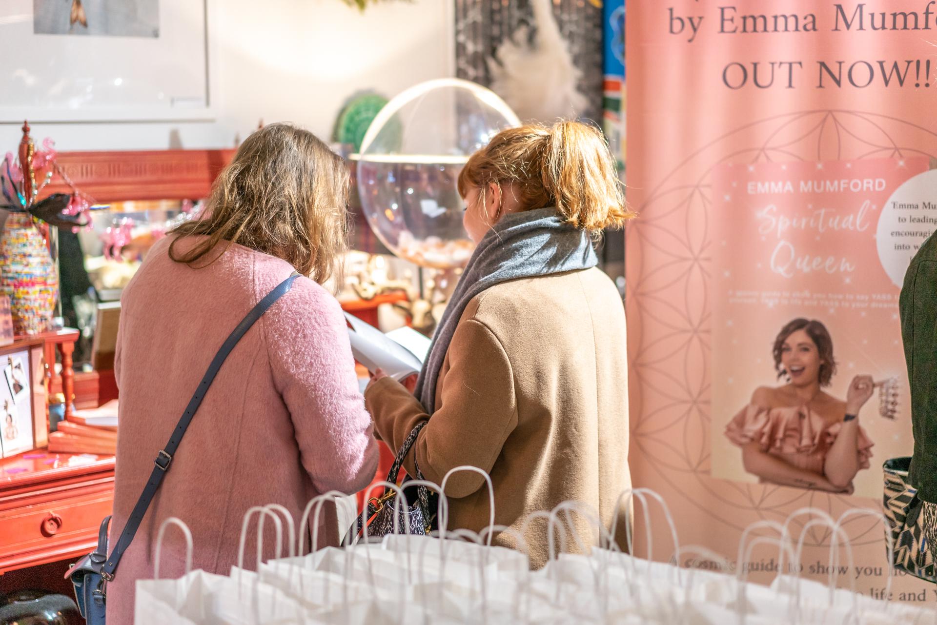 Spiritual Queen Book Launch Party - Emma Mumford