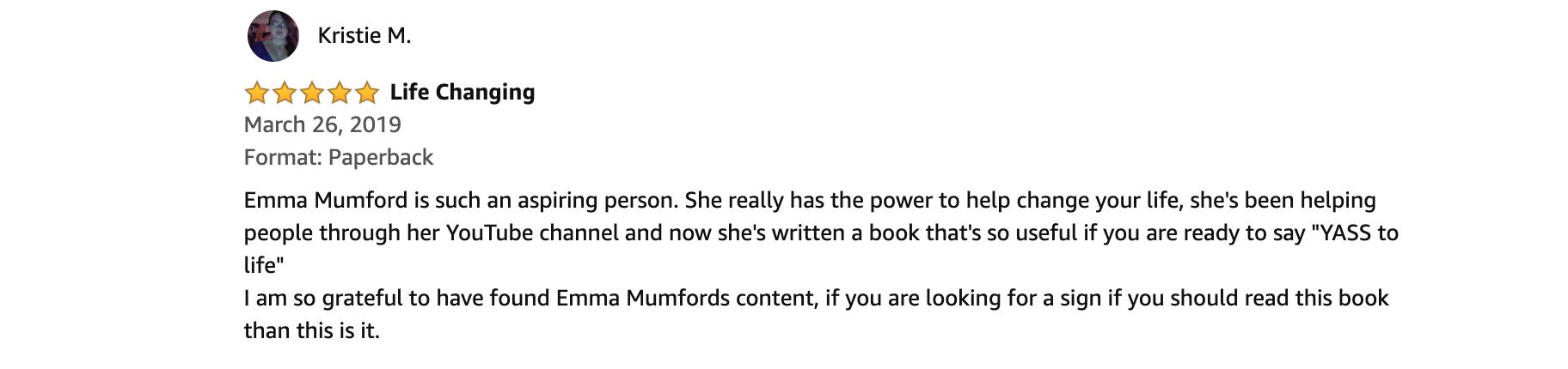 Spiritual Queen Book - Emma Mumford
