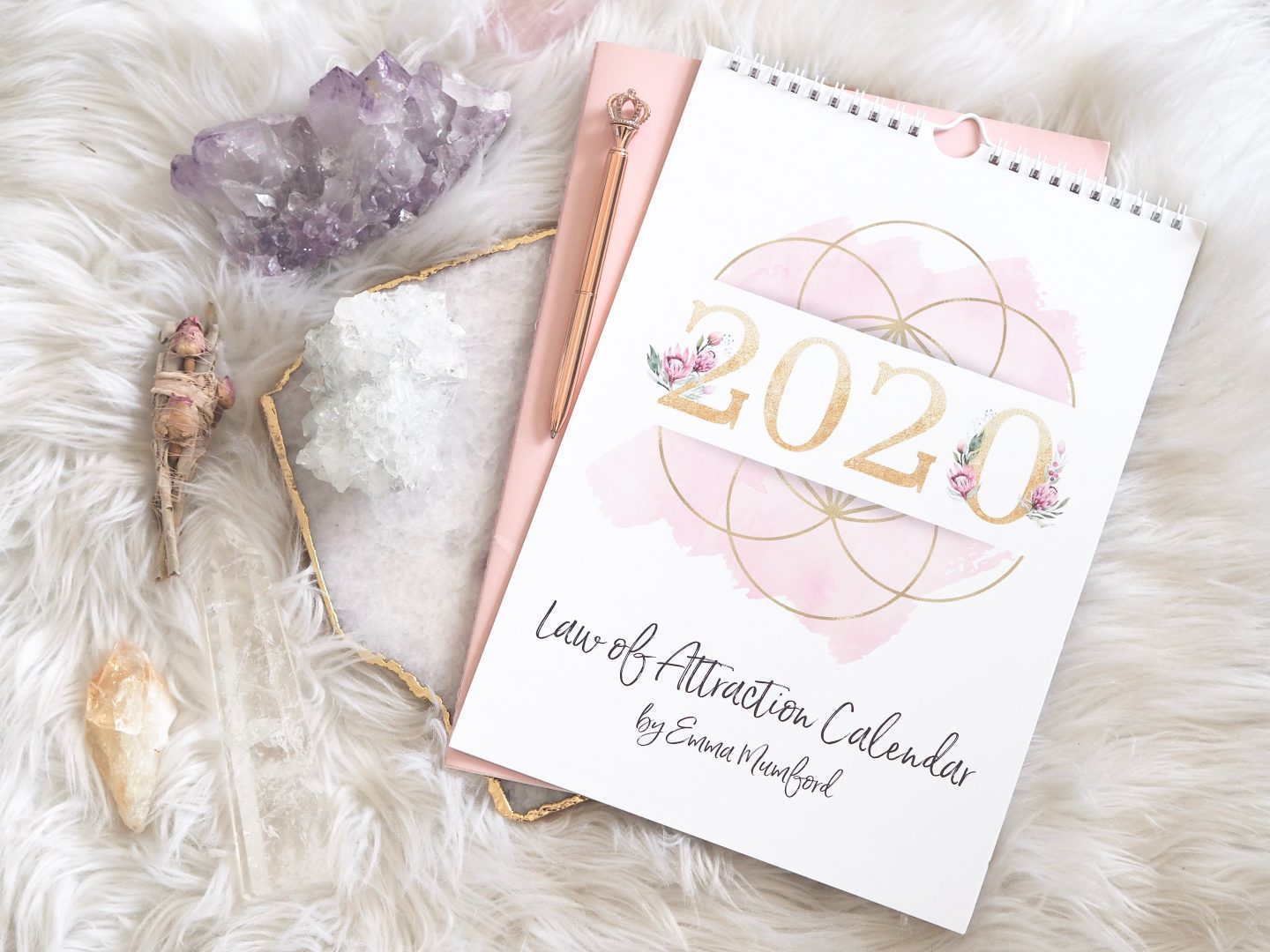 TAKE A LOOK INSIDE MY 2020 LAW OF ATTRACTION CALENDAR
