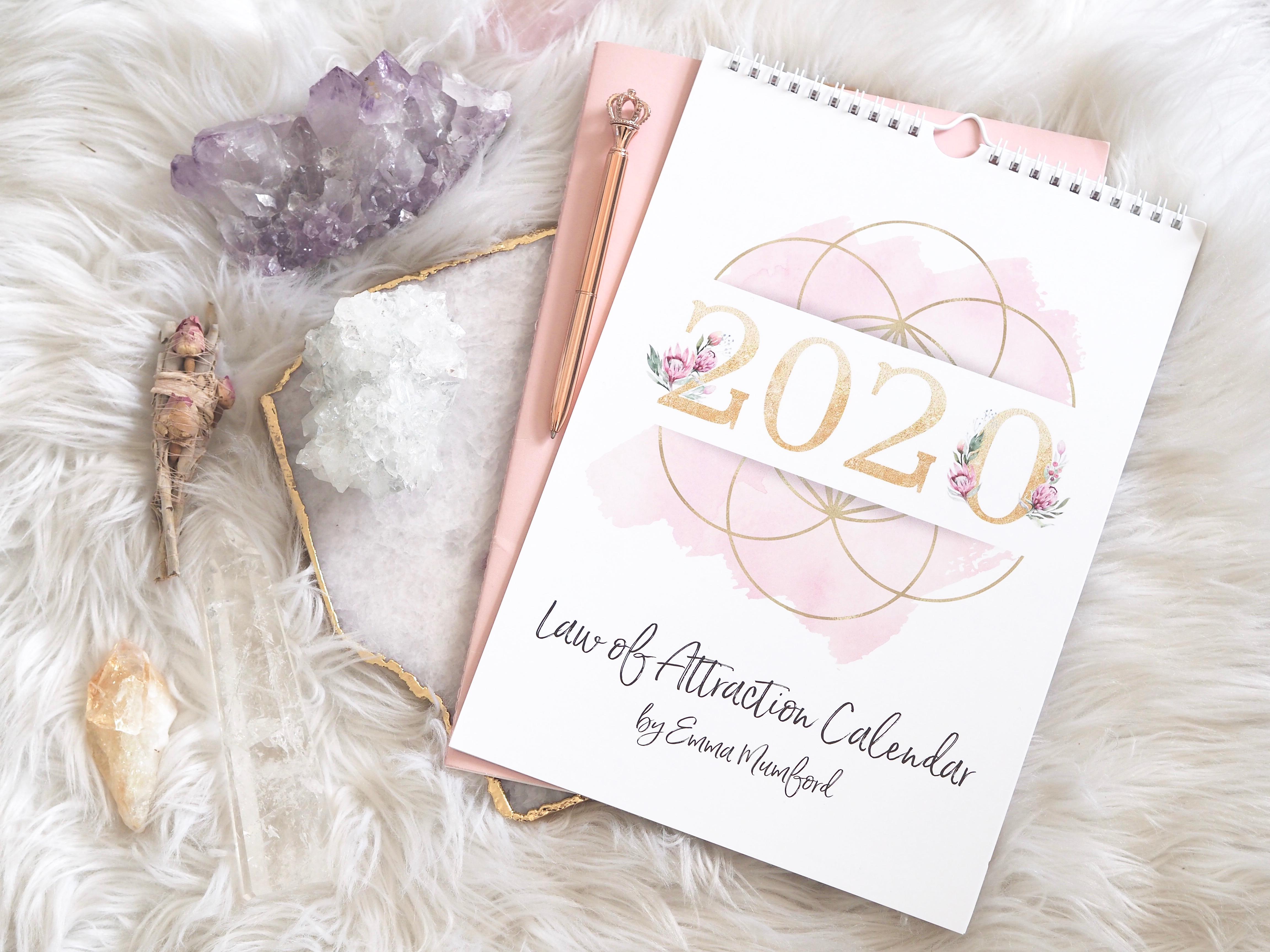 2020 LAW OF ATTRACTION CALENDAR - Emma Mumford