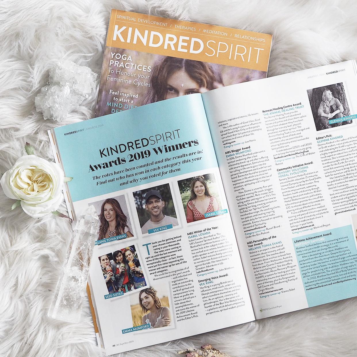 Kindred Spirit Awards 2019 - Emma Mumford