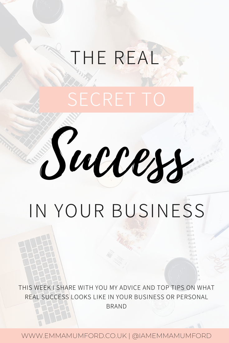 THE REAL SECRET TO SUCCESS IN YOUR BUSINESS