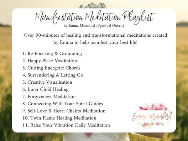 MANIFESTATION MEDITATION PLAYLIST | EMMA MUMFORD SPIRITUAL QUEEN