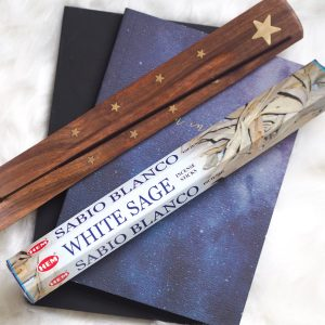 WHITE SAGE CLEANSING HEM INCENSE | LAWOFATTRACTIONSTORE