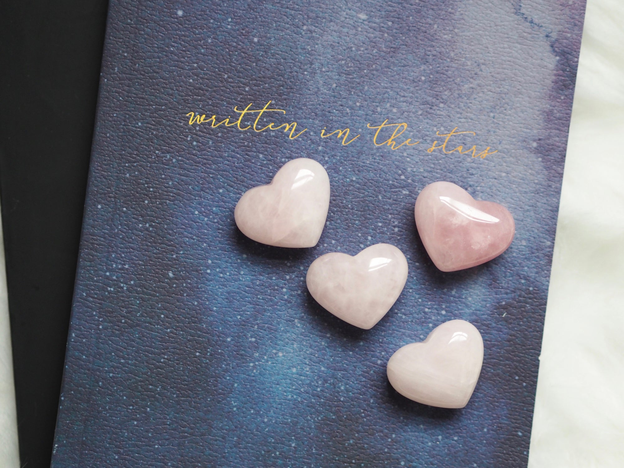ROSE QUARTZ POLISHED GEMSTONE HEART CARVING | LAWOFATTRACTIONSTORE