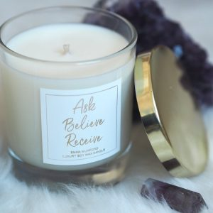 LAW OF ATTRACTION SLOGAN CANDLES | EMMA MUMFORD