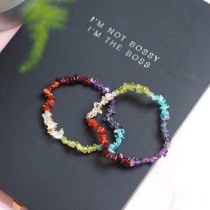 CHAKRA INDIAN CHIP POWER BRACELET | LAWOFATTRACTIONSTORE