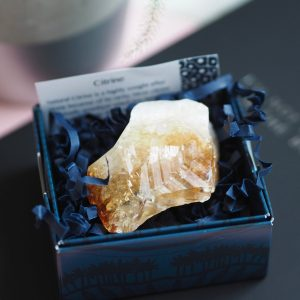 CITRINE POINT CRYSTAL | LAWOFATTRACTIONSTORE