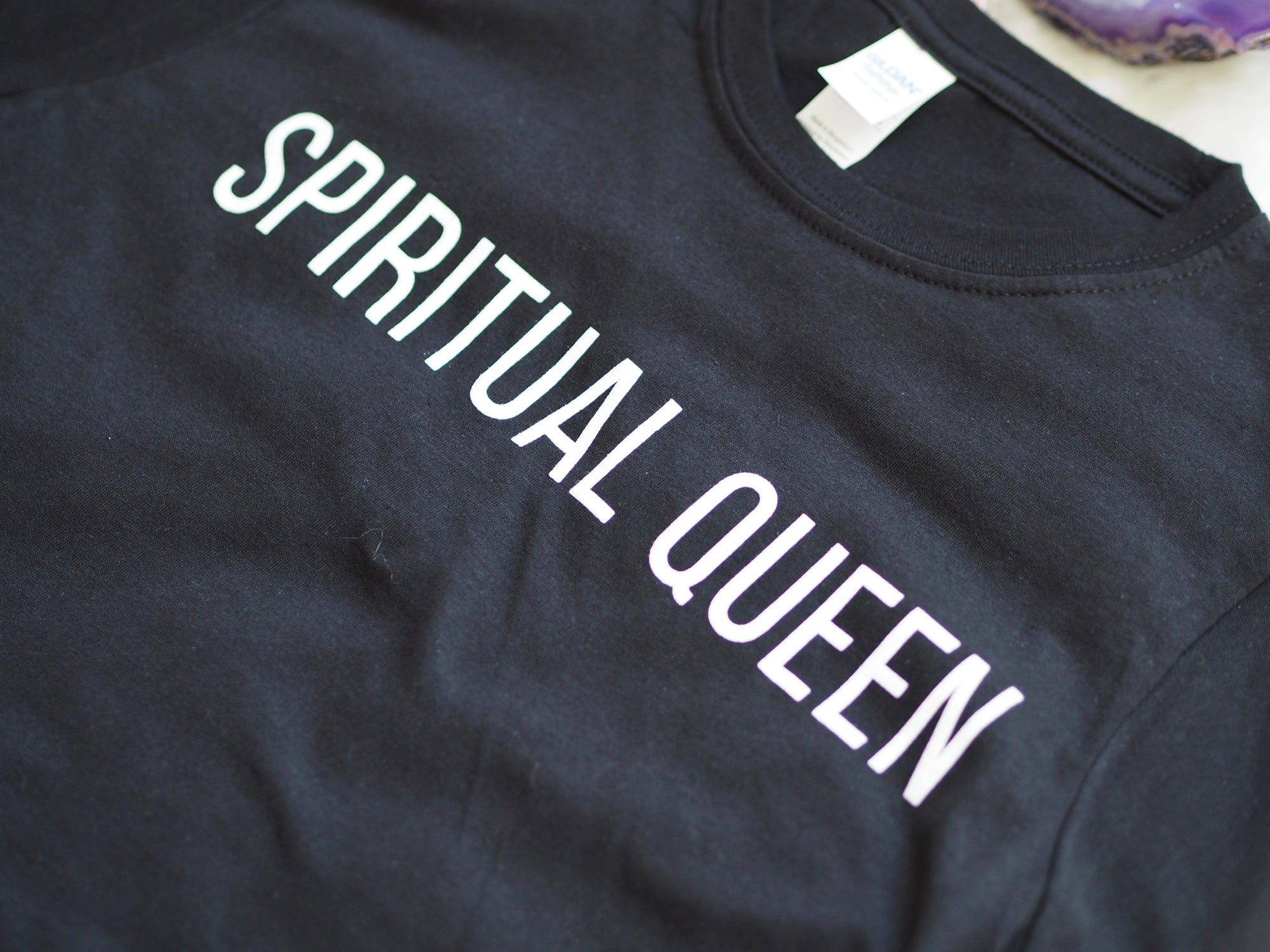 SPIRITUAL QUEEN LADIES T-SHIRT | EMMA MUMFORD