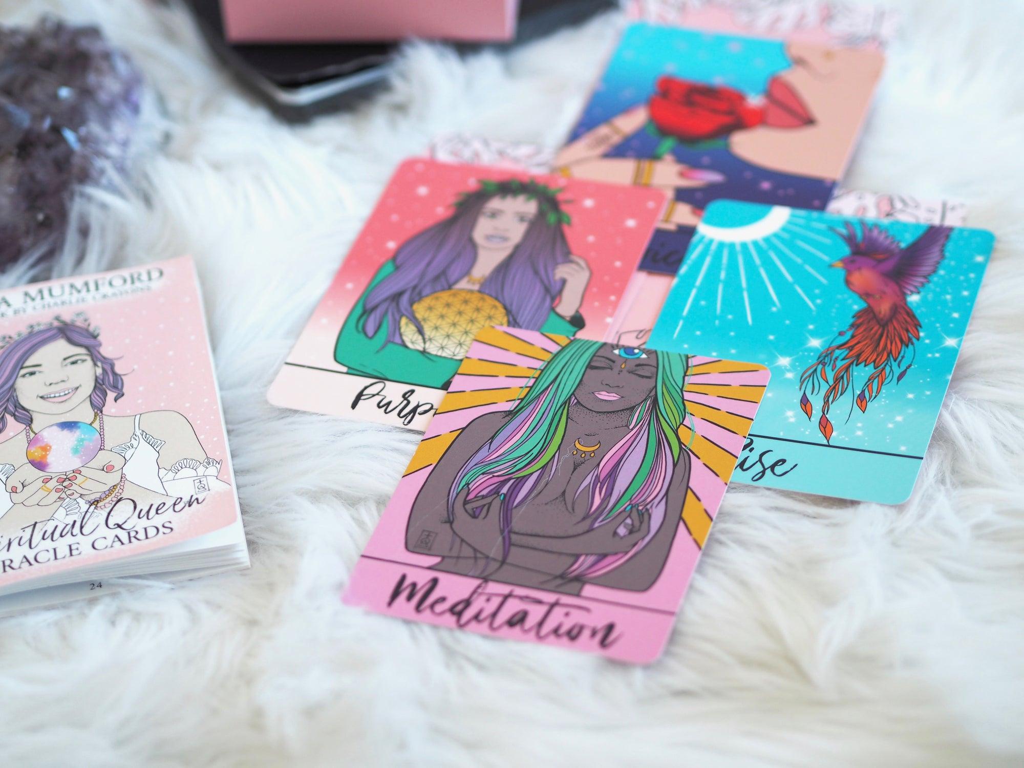 SPIRITUAL QUEEN ORACLE CARDS (44 CARD DECK) | EMMA MUMFORD