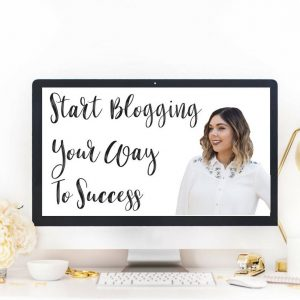 START BLOGGING YOUR WAY TO SUCCESS PDF COURSE BY EMMA MUMFORD