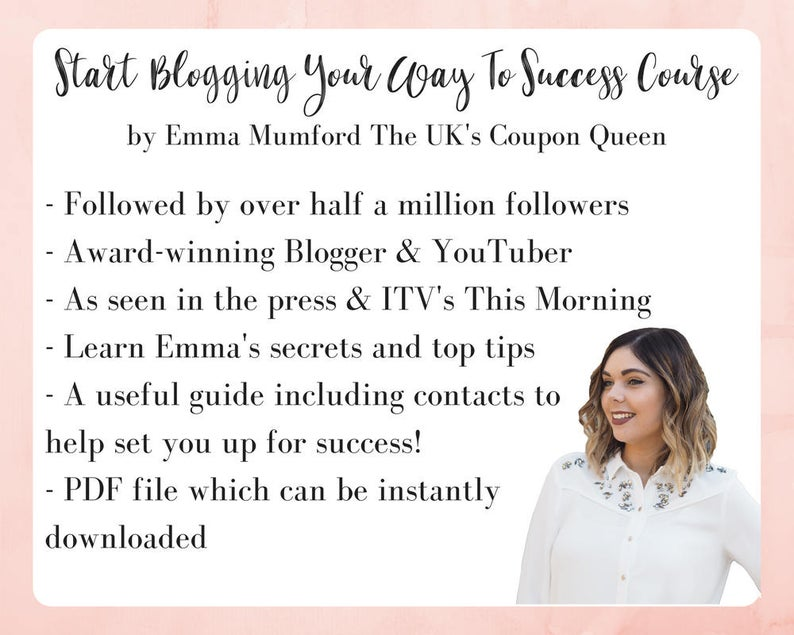 START BLOGGING YOUR WAY TO SUCCESS PDF COUSE BY EMMA MUMFORD