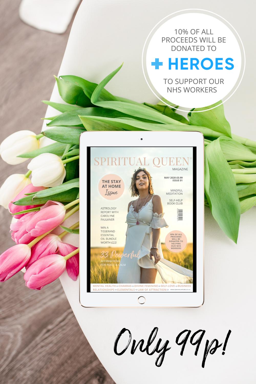 LAUNCHING SPIRITUAL QUEEN MAGAZINE & HELPING OUR NHS - Emma Mumford