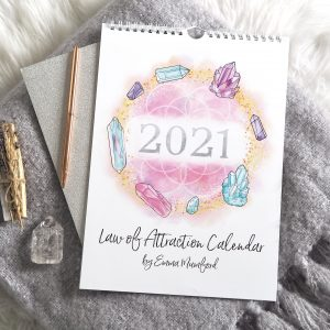 2021 Law Of Attraction Wall Calendar A4 | Emma Mumford