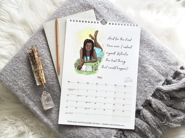 2021 Law Of Attraction Calendar A4   Emma Mumford