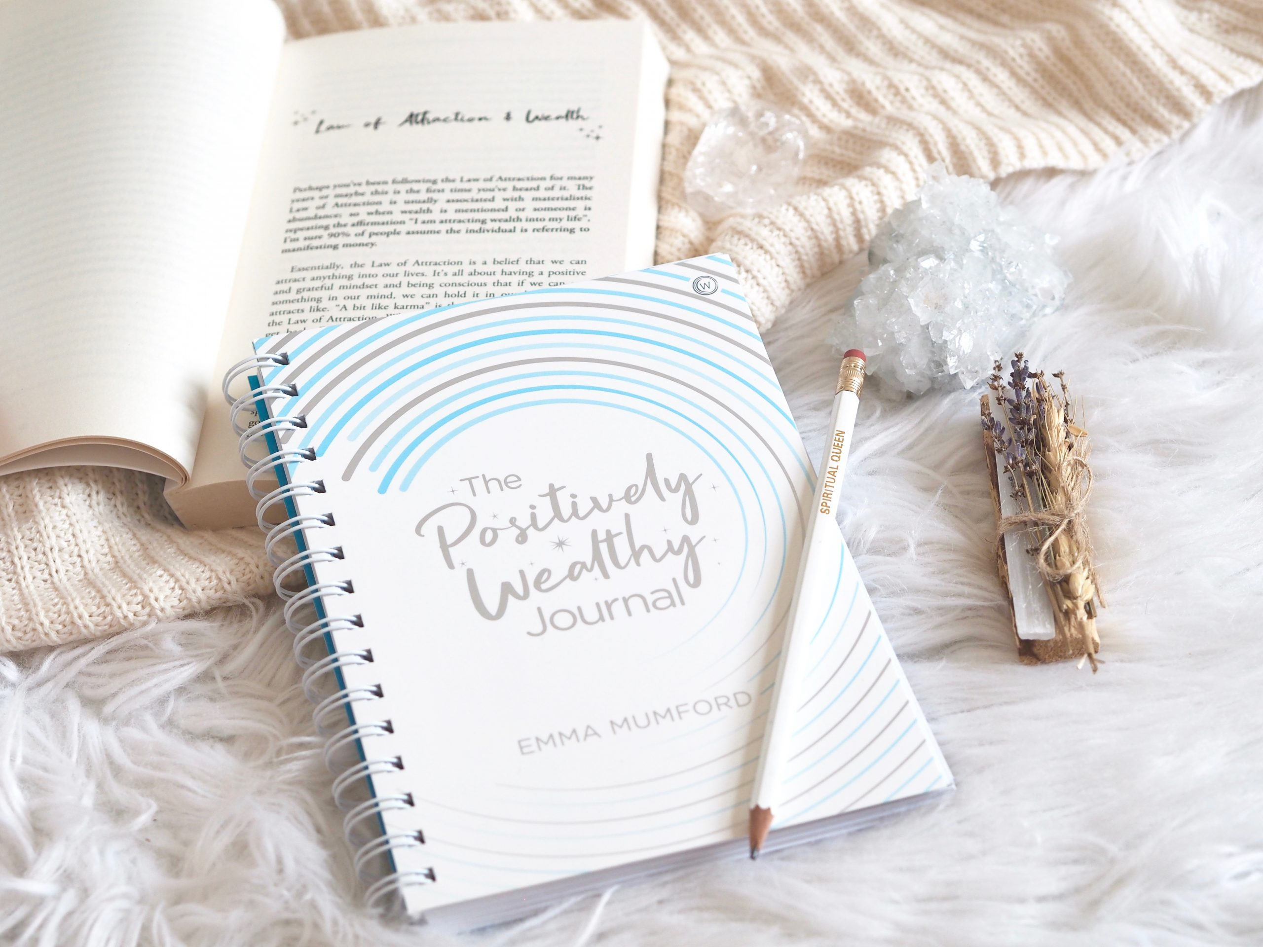 The Positively Wealthy Journal by Emma Mumford