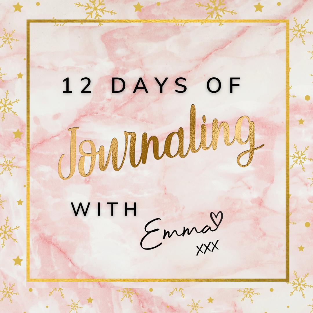 12 Days of Journaling 2020 by Emma Mumford