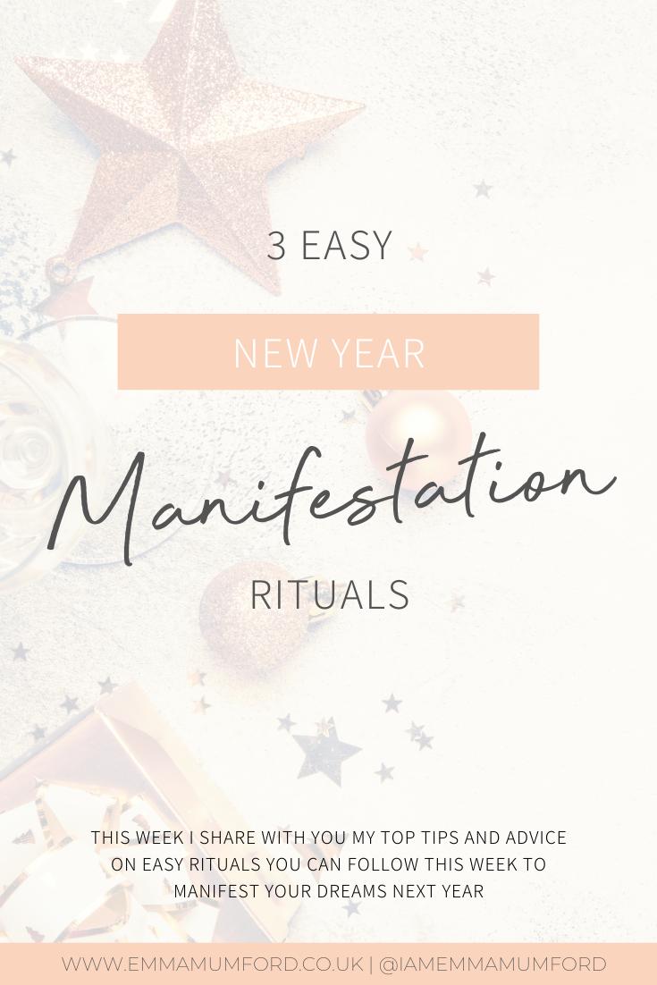3 EASY NEW YEAR MANIFESTATION RITUALS - Emma Mumford
