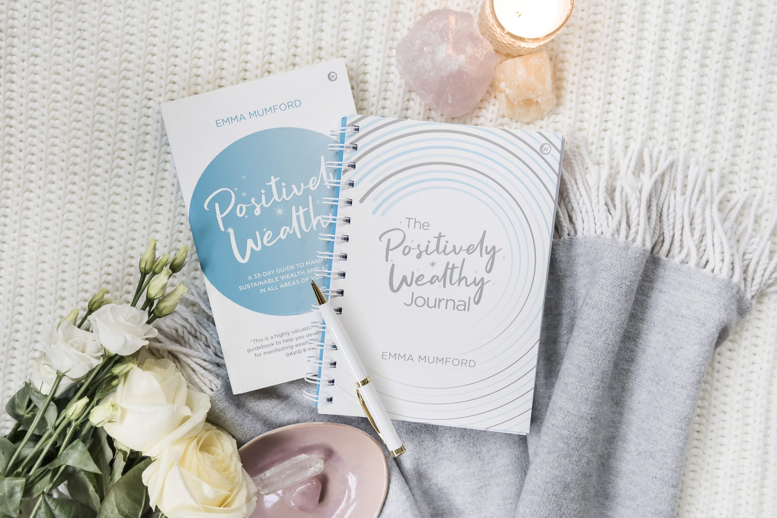Positively Wealthy by Emma Mumford Law of Attraction book