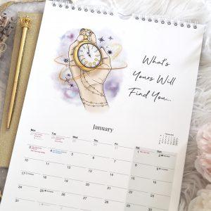 2022 Law Of Attraction Wall Calendar A4 | Emma Mumford