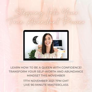 Stepping Into Your True Abundant Power Masterclass - Emma Mumford